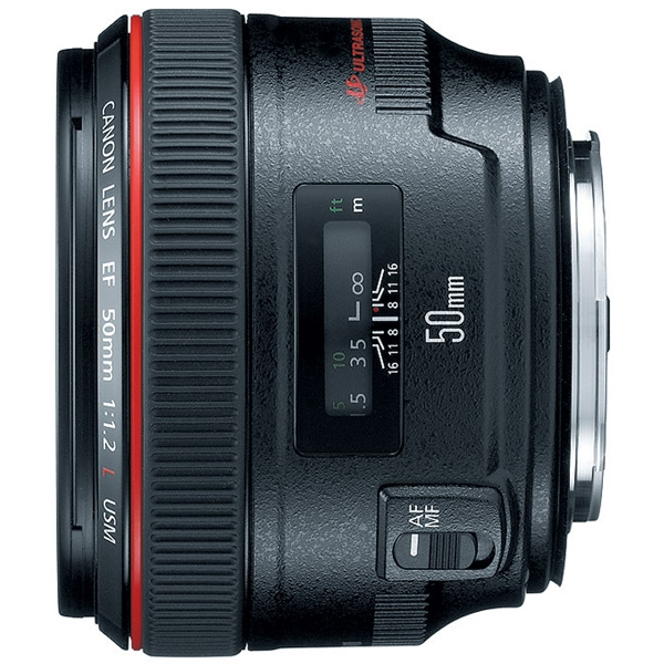 Canon EF 50mm f1.2L II USM Medium Telephoto Lens