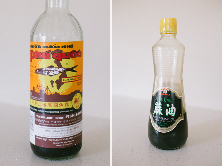 Korean Fish Sauce and Sesame Oik