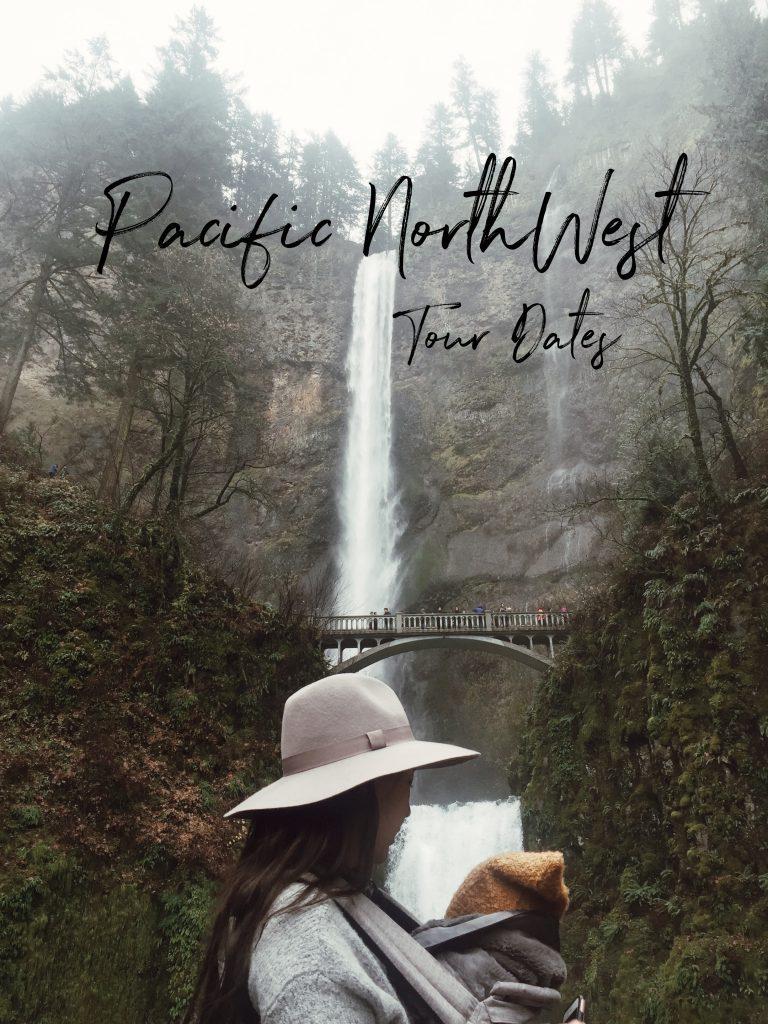 Laura Iz Pacfic Northwest Book Tour