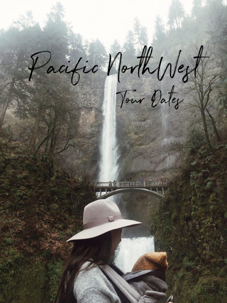 Laura Iz Pacific Northwest Tour