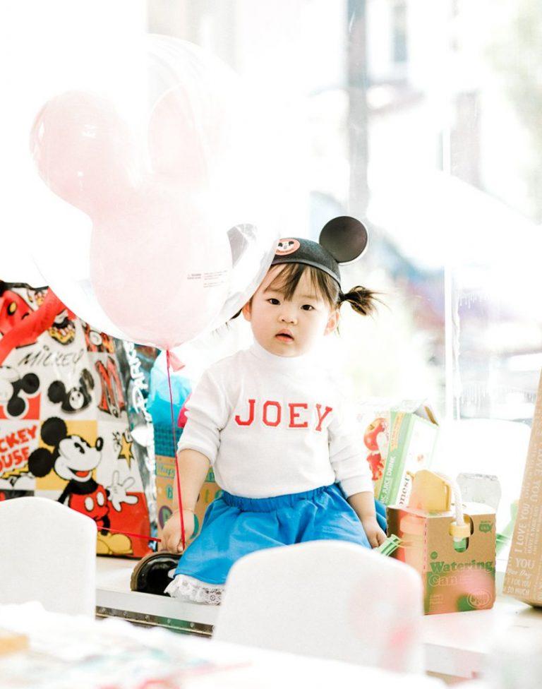 Laura Iz Joey 2nd Disney Birthday